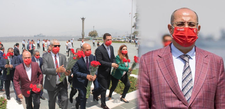 Büyükşehir'den 19 Mayıs'a özel maske: 10 bin adet dağıtıldı!